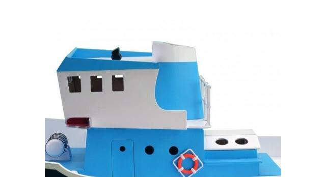 Собранная деревянная модель рыболовецкого судна Artesania Latina &quotATLANTIS&quot (Build & Navigate series), 1/15 3