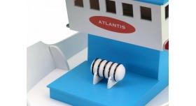 Собранная деревянная модель рыболовецкого судна Artesania Latina &quotATLANTIS&quot (Build & Navigate series), 1/15 4