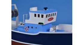 Собранная деревянная модель рыболовецкого судна Artesania Latina &quotATLANTIS&quot (Build & Navigate series), 1/15 5