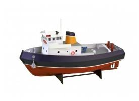 """Собранная деревянная модель корабля Artesania Latina Tugboat """"SAMSON"""" (Build & Navigate series), 1/15"""