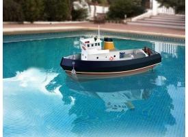 Собранная деревянная модель корабля Artesania Latina Tugboat &quotSAMSON&quot (Build & Navigate series), 1/15 1
