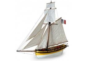 Сборная деревянная модель корабля Artesania Latina LE RENARD 2012, 1/50