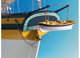 Сборная деревянная модель корабля Artesania Latina LE RENARD 2012, 1/50 1