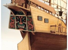 Сборная деревянная модель корабля Artesania Latina RED DRAGON - CLASSIC COLLECTION, 1/60 1
