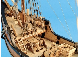 Сборная деревянная модель корабля Artesania Latina LA PINTA, 1/65 1