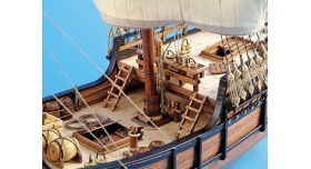 Сборная деревянная модель корабля Artesania Latina LA PINTA, 1/65 3