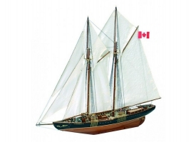 Сборная деревянная модель корабля Artesania Latina BLUENOSE II, 1/75