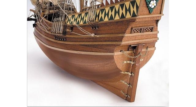 Сборная деревянная модель корабля Artesania Latina MAYFLOWER, 1/60 2