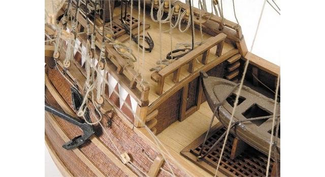 Сборная деревянная модель корабля Artesania Latina MAYFLOWER, 1/60 3