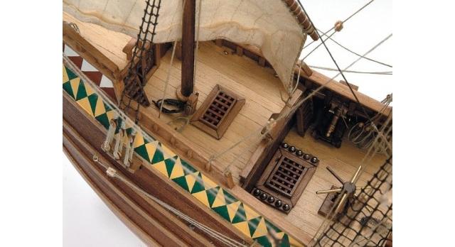 Сборная деревянная модель корабля Artesania Latina MAYFLOWER, 1/60 4