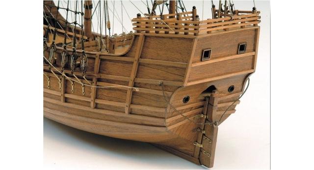 Сборная деревянная модель корабля Artesania Latina SANTA MARIA C., 1/65 3