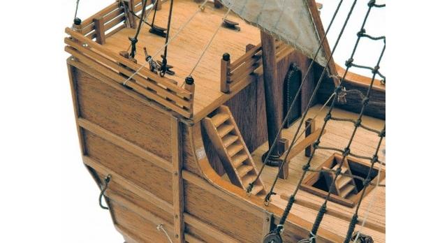 Сборная деревянная модель корабля Artesania Latina SANTA MARIA C., 1/65 4