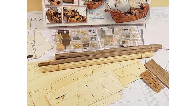 Сборная деревянная модель корабля Artesania Latina SANTA MARIA C., 1/65 6
