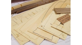 Сборная деревянная модель корабля Artesania Latina SANTA MARIA C., 1/65 8