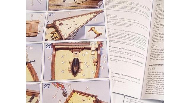 Сборная деревянная модель корабля Artesania Latina SANTA MARIA C., 1/65 9