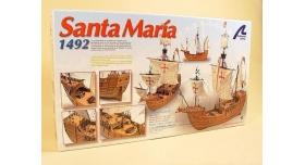 Сборная деревянная модель корабля Artesania Latina SANTA MARIA C., 1/65 10