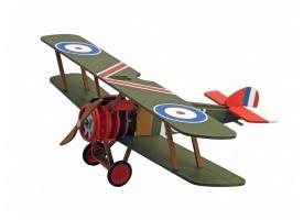Собранная деревянная модель самолета Artesania Latina SOPWITH CAMEL BUILT