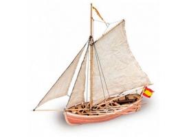 Сборная деревянная модель шлюпки корабля Artesania Latina SAN JUAN NEPOMUCENO'S, 1/25