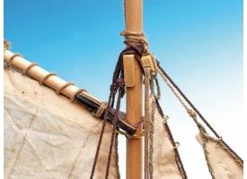 Сборная деревянная модель шлюпки корабля Artesania Latina SAN JUAN NEPOMUCENO'S, 1/25 1