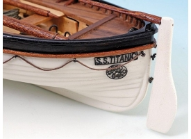 Сборная деревянная модель шлюпки корабля Artesania Latina TITANIC'S, 1/35 1