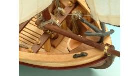 Сборная деревянная модель капитанской шлюпки корабля Artesania Latina SANTISIMA TRINIDAD, 1/50 2