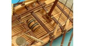 Сборная деревянная модель капитанской шлюпки корабля Artesania Latina SANTISIMA TRINIDAD, 1/50 3