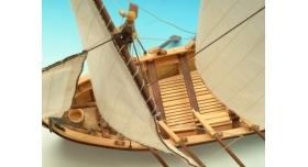 Сборная деревянная модель капитанской шлюпки корабля Artesania Latina SANTISIMA TRINIDAD, 1/50 7