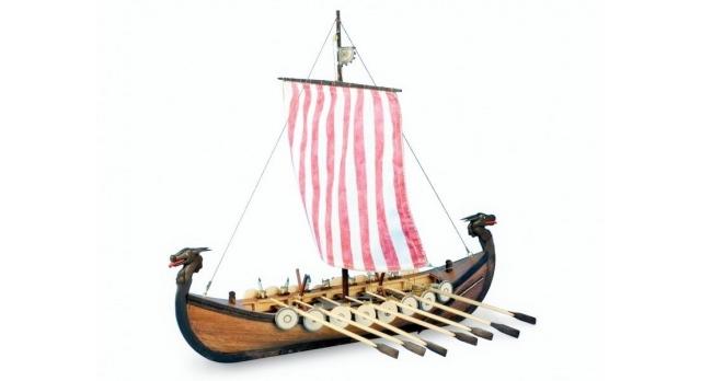 Сборная деревянная модель корабля Artesania Latina NEW VIKING, 1/75 1