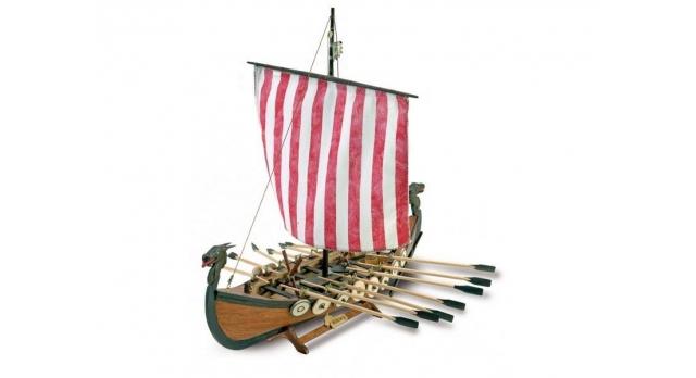 Сборная деревянная модель корабля Artesania Latina NEW VIKING, 1/75 2