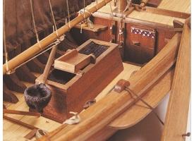 Сборная деревянная модель корабля Artesania Latina BOTTER, 1/35 1