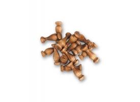 Колонна 10  мм (15u.) орех