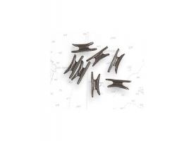 Утка металлическая 9  мм (10 шт)