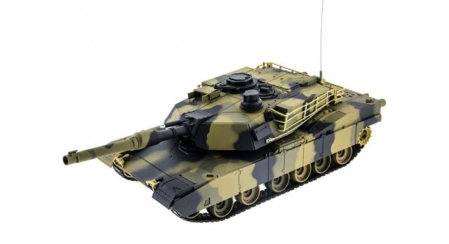 Р/У танк Heng Long 1/24 Battle M1A1 ABRAMS, стреляет шариками, RTR 1