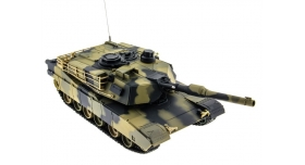 Р/У танк Heng Long 1/24 Battle M1A1 ABRAMS, стреляет шариками, RTR 3