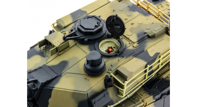 Р/У танк Heng Long 1/24 Battle M1A1 ABRAMS, стреляет шариками, RTR 5