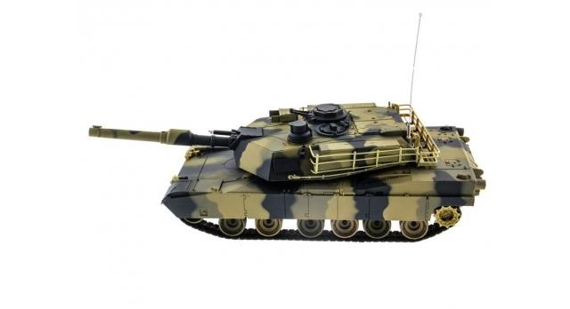 Р/У танк Heng Long 1/24 Battle M1A1 ABRAMS, стреляет шариками, RTR 8