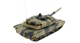 Р/У танк Heng Long 1/24 Battle M1A1 ABRAMS, стреляет шариками, RTR 11