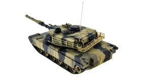 Р/У танк Heng Long 1/24 Battle M1A1 ABRAMS, стреляет шариками, RTR 12