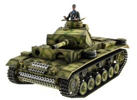 Р/У танк Taigen 1/16 Panzerkampfwagen III (Германия) PRO 2.4G RTR