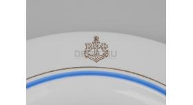 Тарелка для вторых блюд ВМФ / Люкс [ф-55]