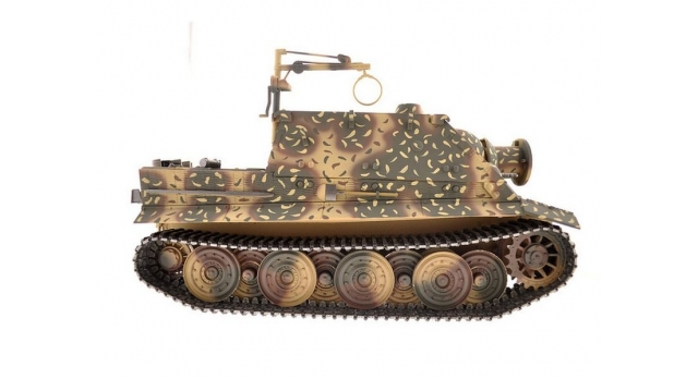 Р/У танк Torro Sturmtiger Panzer 1/16  2.4G, зеленый, ВВ-пушка, деревянная коробка 5