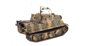 Р/У танк Torro Sturmtiger Panzer 1/16  2.4G, зеленый, ВВ-пушка, деревянная коробка 9