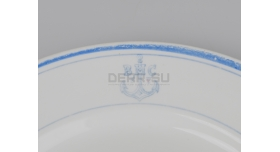 Тарелка для вторых блюд ВМС / Тип 2 [ф-23]