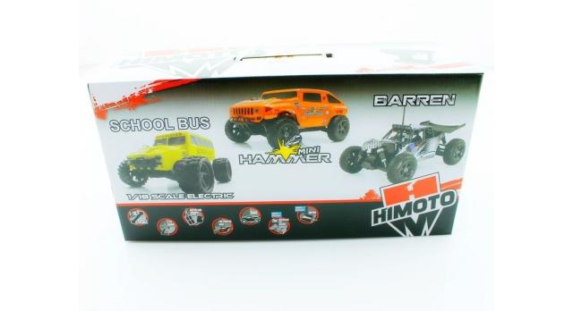 Радиоуправляемый монстр Himoto Crasher 4WD 2.4G 1/18 RTR 14