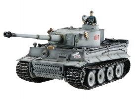 P/У танк Taigen 1/16 Tiger 1 (ранняя версия) HC, башня на 360, подшипники в ред., откат ствола