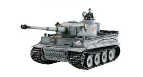 P/У танк Taigen 1/16 Tiger 1 (ранняя версия) HC, башня на 360, подшипники в ред., откат ствола 1