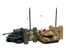 Р/У танковый бой Huan Qi 1:32 IV Tiger vs Leopard 2A5, 2.4G