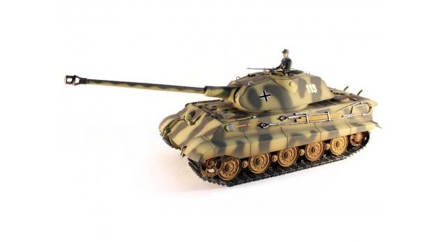 Р/У танк Taigen 1/16 KingTiger (Германия) HC 2.4G RTR 1