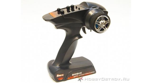 Радиоуправляемый монстр Himoto Bowie Brushless 4WD 2.4G 1/10 RTR 2