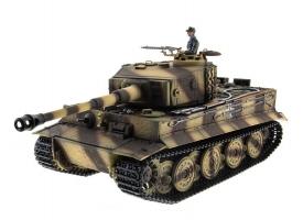 P/У танк Taigen 1/16 Tiger 1 (Германия, поздняя версия) 2.4G RTR летний камуфляж